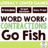 Go Fish:  Contractions