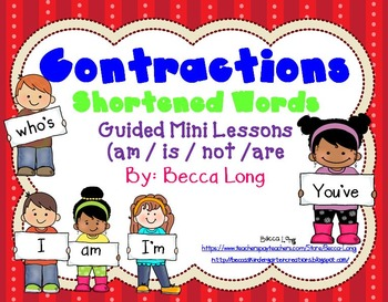 Contractions - Guided Mini Lessons