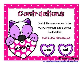 Contractions - Hearts and Skunks