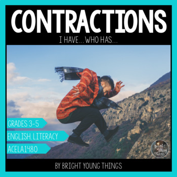 Contractions 'I Have...Who Has' Activity