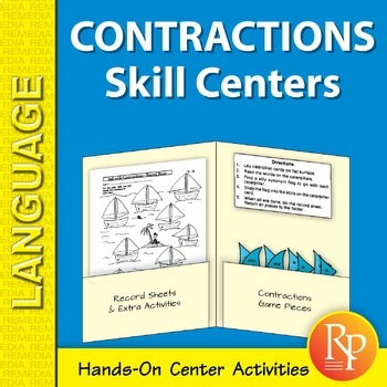Contractions: Language Skill Centers