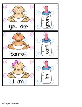 Contractions Literacy Center