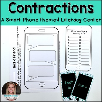 iPhone Contractions Literacy Center