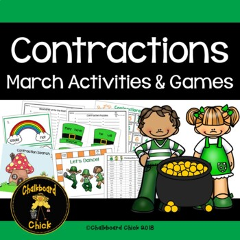 Contractions March Activities and Games
