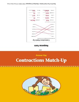 Contractions Match-Up (Take It to Your Seat Centers)