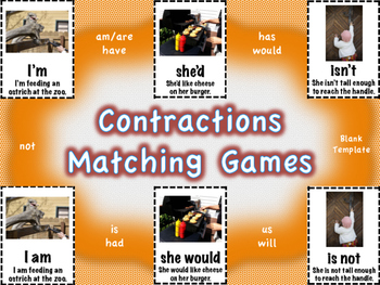 Contractions Matching Games