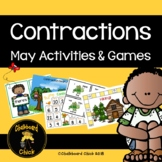 Contractions May Activities & Games