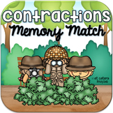 Contractions Memory Match ~ Interactive PowerPoint Game