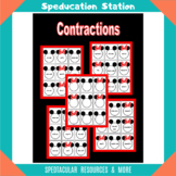 Contractions - Mickey and Minnie Matching