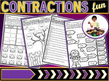 Contractions : A Grammar Mini-Lesson