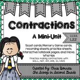 Contractions Mini Unit  - Common Core Aligned!