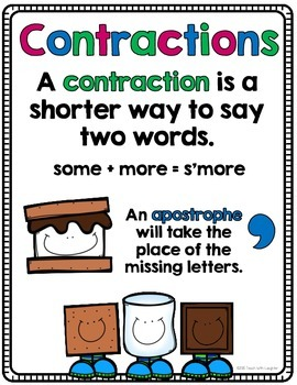 Contractions Mirror Words