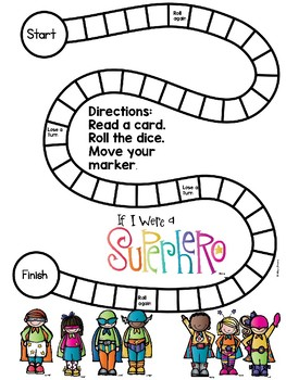 Contractions PHONICS BOARD Game