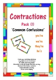 Contractions (Pack 1) Common Confusions
