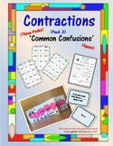 Contractions Pack (2) - (Those Pesky!) 'Common Confusions'