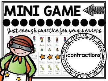 Contractions Phonics Mini Game