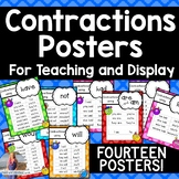 Contractions Posters **14 posters!**