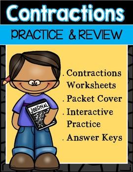 Contractions Practice Activities
