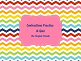 Contractions Practice & Assessment