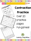 Contractions Practice and Games