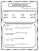 Contractions Printables and Game
