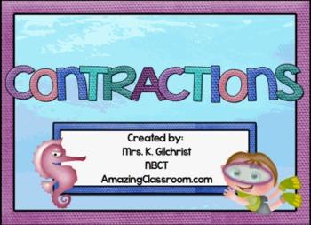 Contractions Promethean ActivInspire Flipchart Lesson