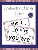 Contractions Puzzle Game