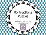 Contractions Puzzles - 2.L.2c