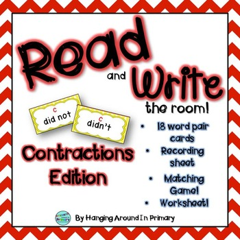 Literacy Center for Contractions