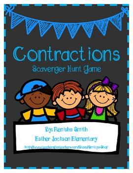 Contractions Scavenger Hunt