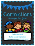 Contractions Scavenger Hunt