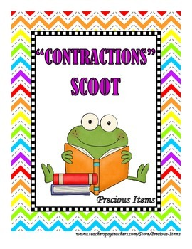"""Contractions"" Scoot Game"