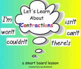 Contractions SmartBoard Lesson for Primary Grades