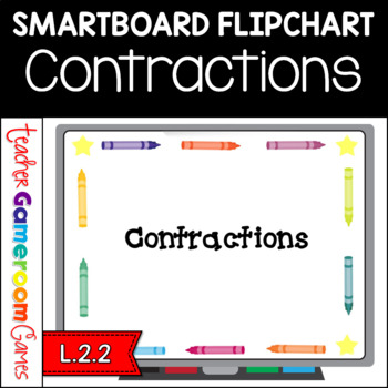 Contractions Smartboard Flipchart