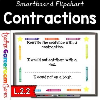Contractions Smartboard Activity