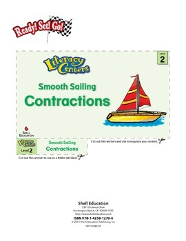 Contractions--Smooth Sailing Literacy Center (eLesson)