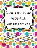 Contractions Square Puzzle Boom Card Deck