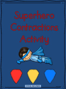 Contractions Superhero Match