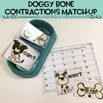 Contractions Task Cards, Anchor Chart, Extra Practice and More!