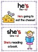 Contractions- Phonics Unit, Word Work and Literacy Center Activities