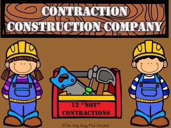Contractions Using Not