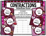 Contractions Valentine Scoot