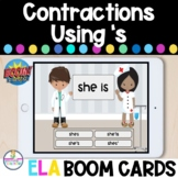 Contractions With 's Boom Cards