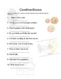 Contractions Worksheet