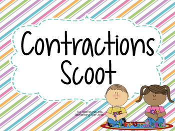 Contractions Write the Room
