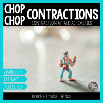 Contractions activity - Chop Chop Contractions