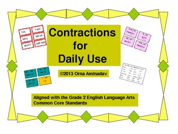 Contractions for Daily Use