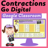 Contractions for Google Classroom