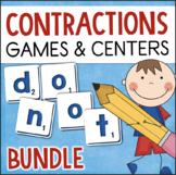 Contractions Activities, Centers, & Games