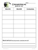 Contractions in Sentences: 2nd - 3rd Grade Common Core Practice Packet
